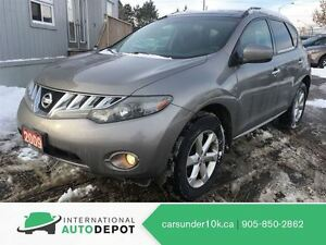 2009 Nissan Murano SL AWD / BACK-UP CAM / PANO ROOF