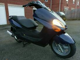 Yamaha Majesty YP-125R Executive Scooter, 2002, Low Mileage, Service History