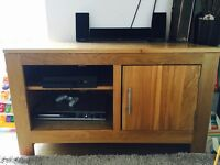 Solid Oak Tv Unit!