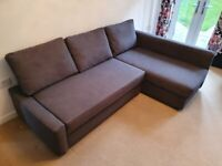 IKEA FRIHETEN corner sofa bed in pristine conditions