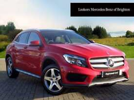 Mercedes-Benz GLA Class GLA250 4MATIC AMG LINE EXECUTIVE (red) 2014-11-21