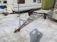 Dinghy road trailer & launch trolley