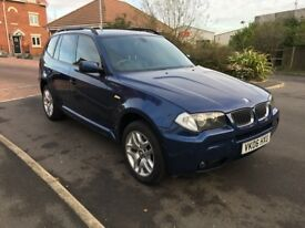 2006 BMW X3 M SPORT 2.0D spares or repair