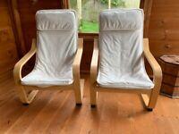 Two Ikea Kids Chairs