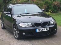 2008 BMW 123D SPORT LCI 90K FBMWSH LOOKS AND DRIVES GOOD LEATHER TWIN TURBO PX 118D 120D