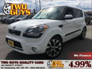 2013 Kia Soul 2.0L 4u | LEATHER | SUNROOF |NAVIGATION