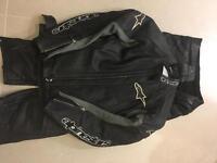 Alpine stars bike leathers