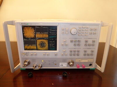 Anritsu 37369c 40 Ghz Vector Network Analyzer W Options 361011 - Calibrated