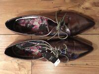 Women's metallic Next shoes. Size 40 / 6.5 BNWT *Make an offer*
