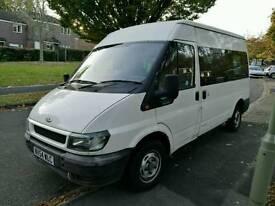 Ford transit minibus 12 seats/300 mwb