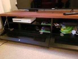 Walnut tv cabinet for 60 inch tv
