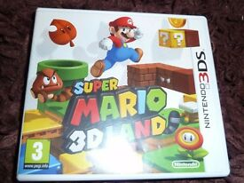 Super Mario 3D Land DS Game