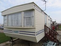 6 BERTH CARAVAN TO LET AT GOLDEN PALM RESORT, CHAPEL St. LEONARDS