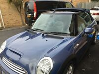 mini cooper s convertible 2005 two lady owners from new