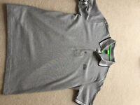 Hugo Boss Polo Shirt - Grey - Small