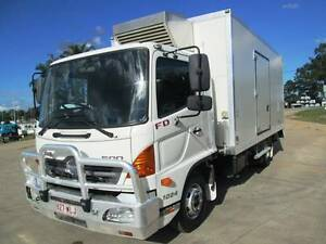 Hino FD 1024-500 Series Refrigerated 2009 FD Hino. Refrigerated Glanmire Gympie Area Preview