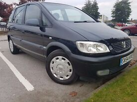 2005 Vauxhall Zafira life 1.6 i 16v 5dr 7 seater, 12 month MOT not galaxy or touran