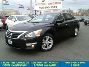 2014 Nissan Altima SV Sunroof/Htd Sts/Camera &GPS*$45/wkly