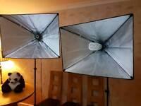Studio lights + bits and bobs