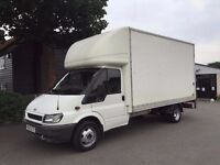 Tameside and stockports recommended removals & storage cheap man & tail lift luton van,