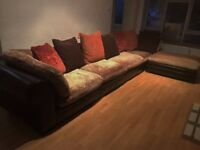 DFS, Tetrad, Hemmingway / Hemingway Leather Corner Sofa