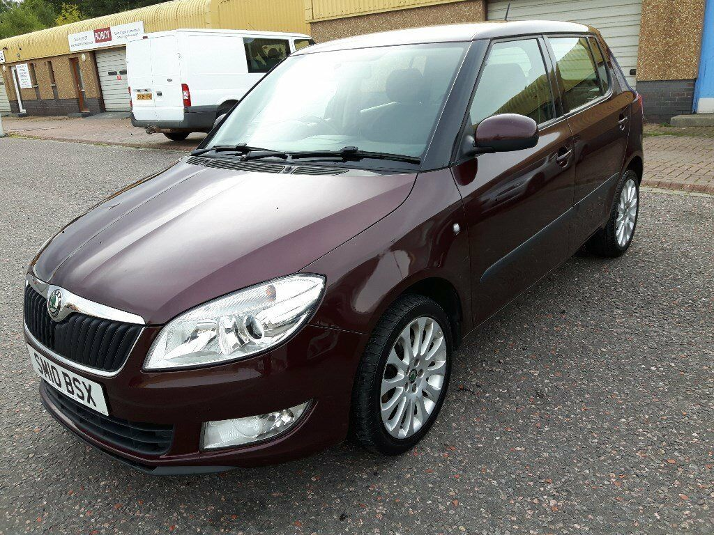 2010 SKODA FABIA FACELIFT 1.6 TDI CR ELEGANCE ROAD TAX ONLY £20 NEW MOT