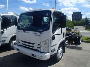 2017 isuzu NPR HD EFI Cabover Cab and Chassis ( Gas Engine)