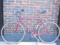 Beautiful Lightweight Peugeot/Helium single speed/not fixie bike, Serviced