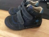 DD Step size 21 leather shoes for baby boys