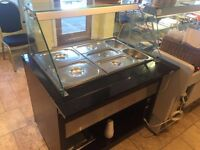 Gastroline heated service counter - Glasgow West End