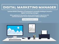 Digital Marketing Manager - Social Media & Website Management