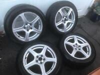 "16"" 5x100 Alloy Wheels"