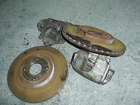 ford puma front brakes