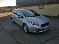Kia Ceed 2015 Automatic 1.6 GDi Very low mileage (7325miles) Fully Equipped