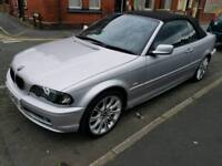 2003 BMW 320i Convertible 11mths m.o.t Great condition