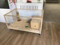 Living world eco habitat (guinea pig rabbit home)