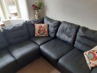 leather corner suite for sale