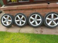 Audi vw s line alloy wheels pcd 5x112