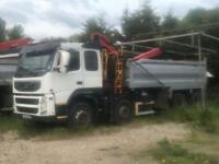 2011/11 Volvo FM410 Grab Tipper Lorry Truck