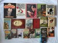 SHERLOCK HOLME BOOKS - LARGE COLLECTION - ALL VGC. SEE MORE IMAGES / DETAILS.