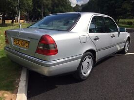 1997 P MERCEDES BENZ C250 TD ELEGANCE 4 DR SALOON 1 OWNER FROM NEW
