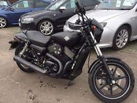 2016 Harley-Davidson Street 750 Custom Cruiser 749cc Finance Available Can Be restricted to 500cc