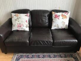 2 comfortable sofas