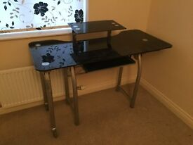 Glass Office or Computer desk / table