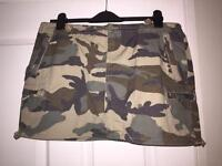 Bench camouflage skirt,cost £35 new with tags
