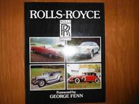 Vintage Rolls-Royce Enthusiasts Book 1982 George Fenn