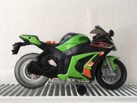 Battery-powered motorbike
