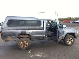 Toyota Hilux jeep 2.4 diesel pic up 4x4