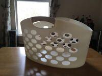 Large flexible clothes basket for sale