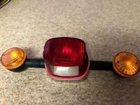 Motorcycle Rear Tail Brake Stop Turn Indicator Light bike motorbike lights tail lights
